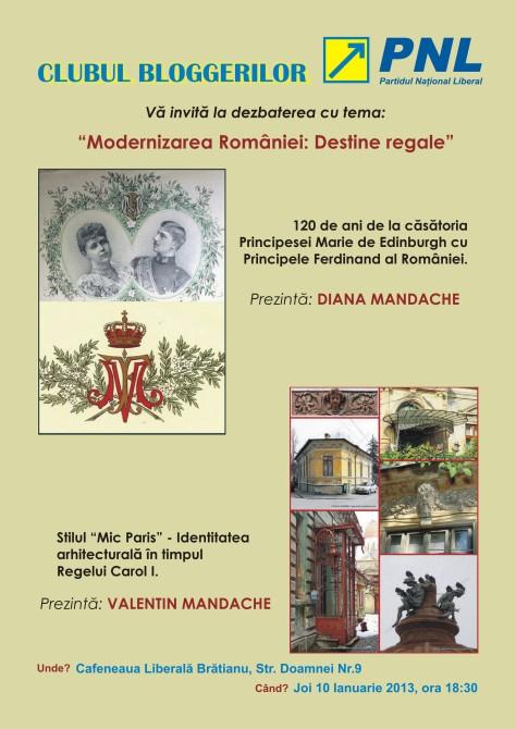 Modernizarea Romaniei: Destine Regale