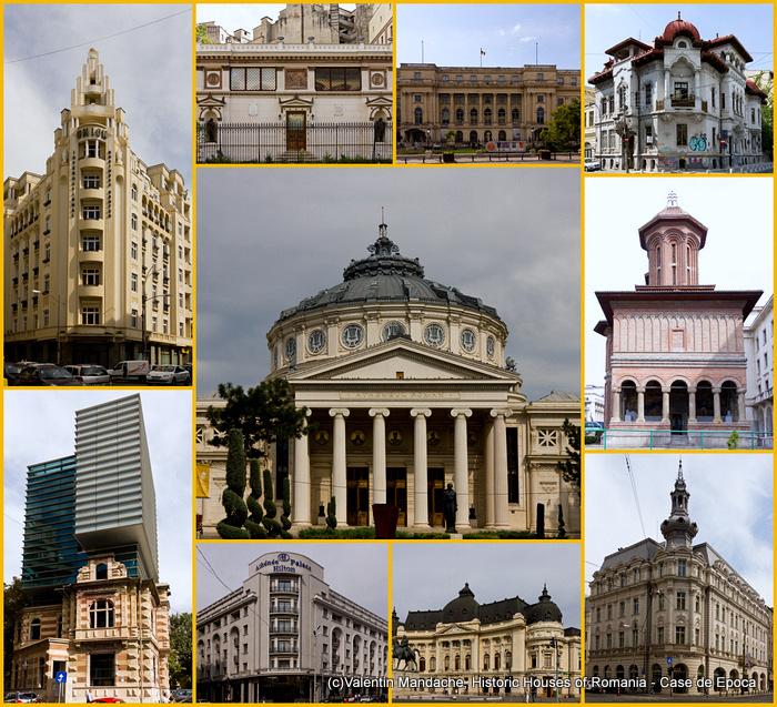 Tur arhitectural Case de Epoca in centrul Bucurestiului
