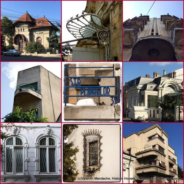 Tur arhitectural Case de Epoca in zona Strada Plantelor, Bucuresti