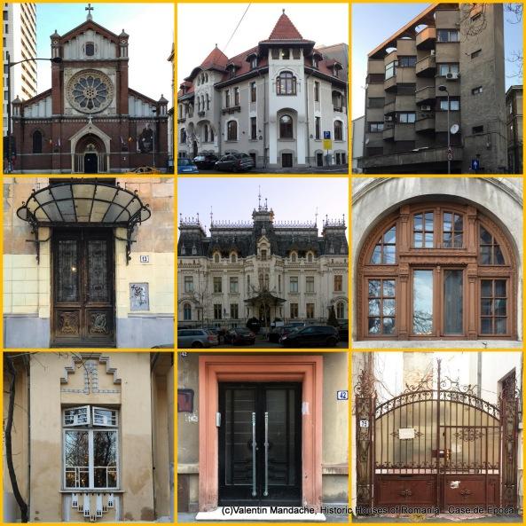 Tur arhitectural Case de Epoca in zona Berthelot, Bucuresti