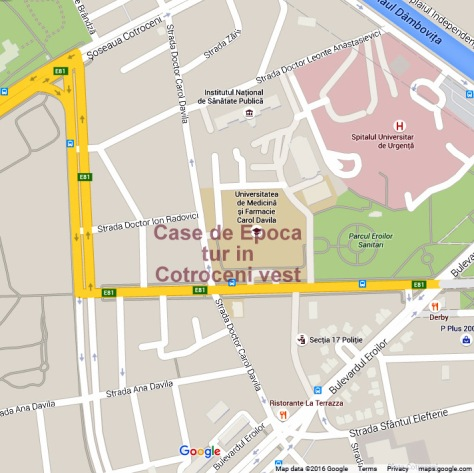 Cotroceni West - map-001
