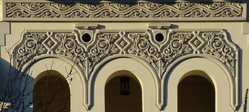 Tur: stilul neoromanesc tarziu in zonaKiseleff